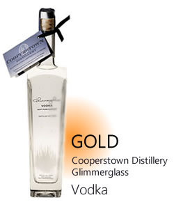 Glimmerglass Vodka, Cooperstown Distillery $31