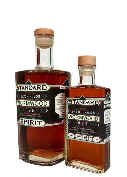 Wormwood Rye Whiskey, Standard Wormwood Distillery $44  / 750mL, $22 / 200mL