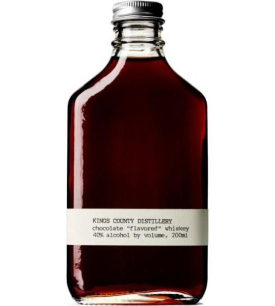 Chocolate Whiskey, Kings County Distillery $27
